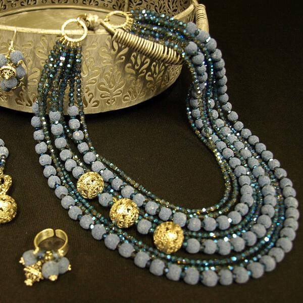 Kamena duga - srebrni nakit